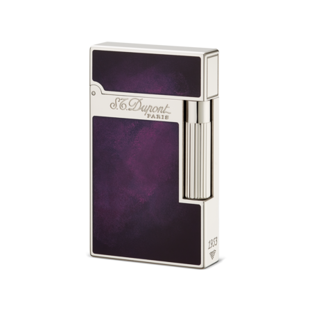 Lighter transparent purple. S t dupont ligne