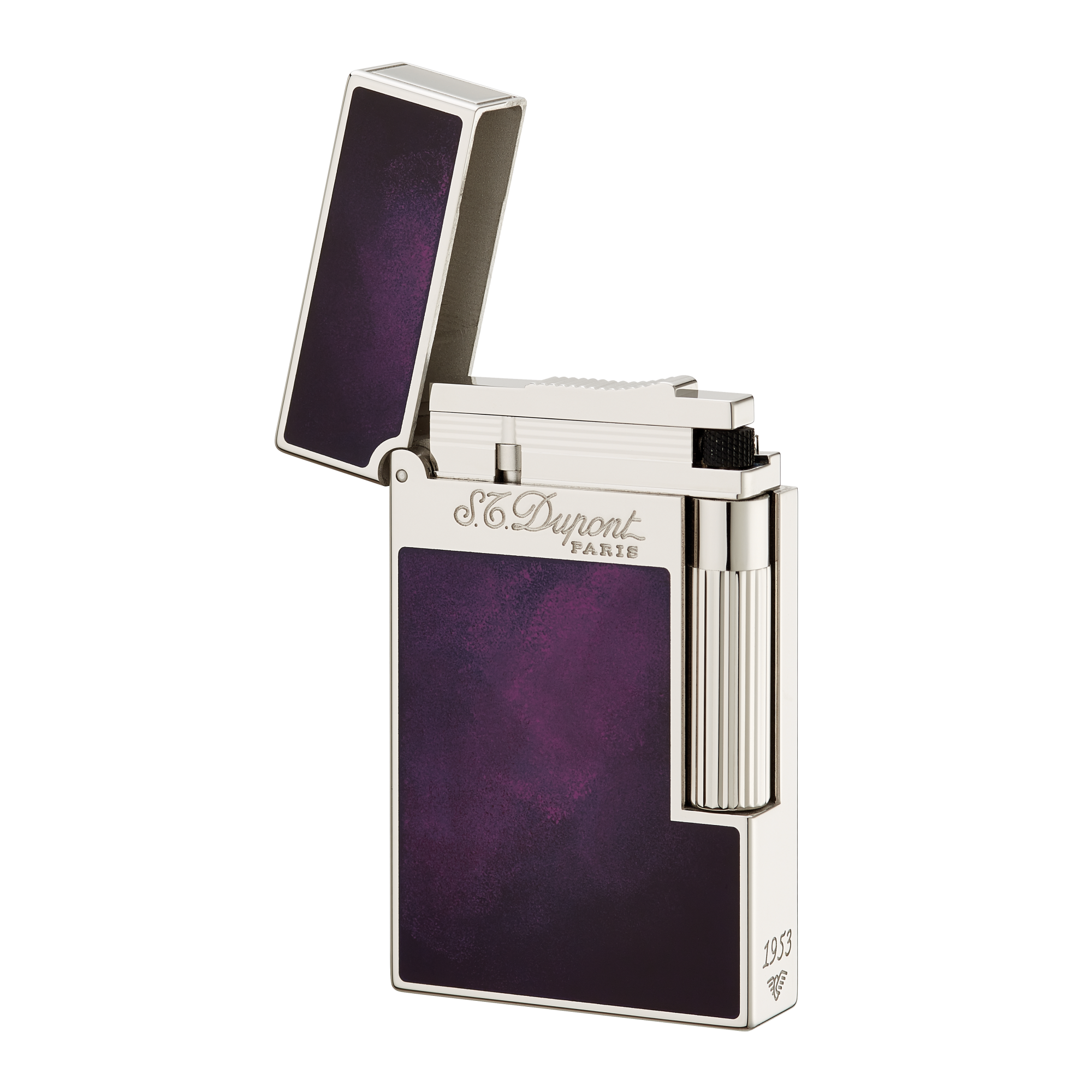 Lighter transparent purple. Art brown international company