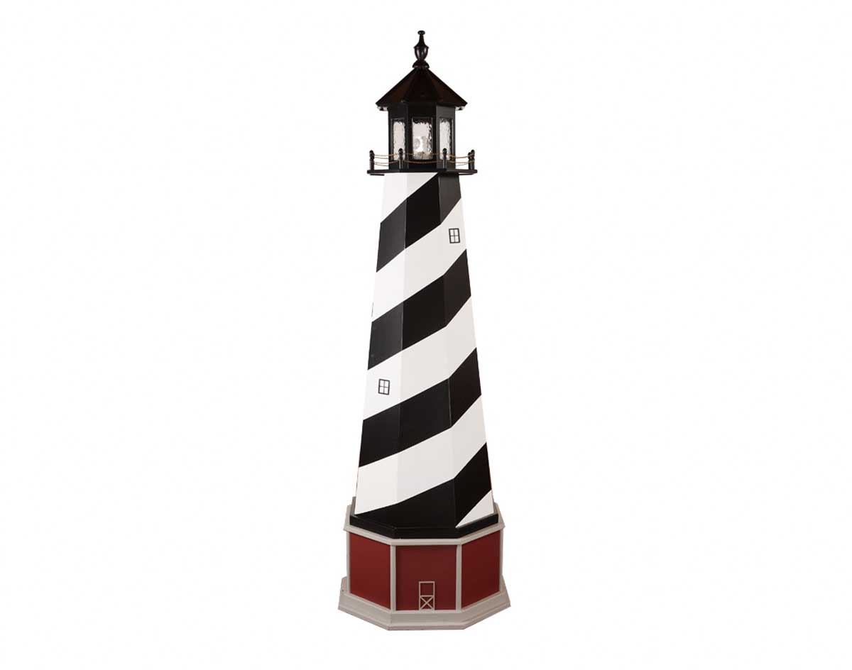 Lighthouse clipart lighthouse hatteras. Poly lumber wooden hybrid