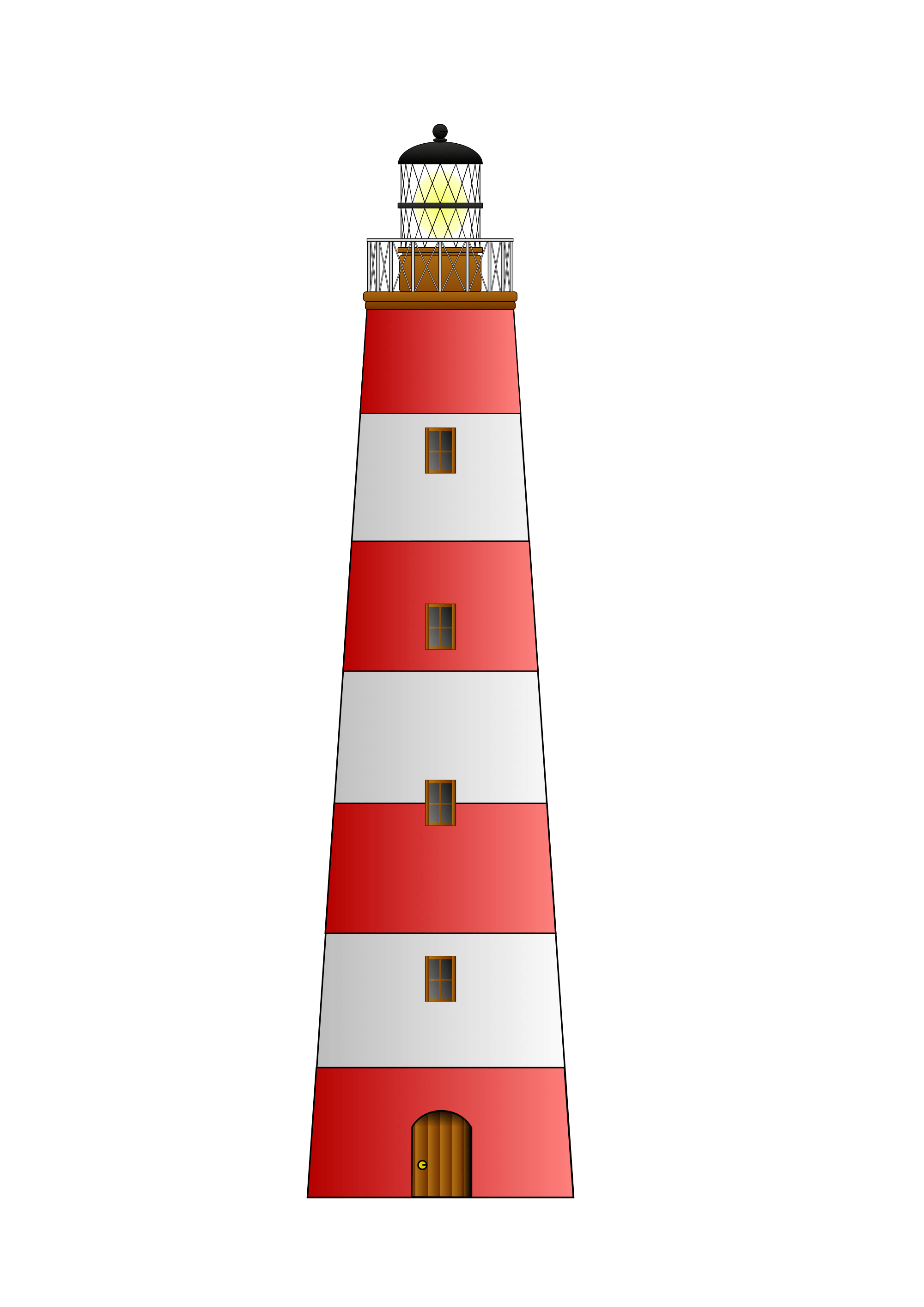 Light house png. Red white lighthouse clipart