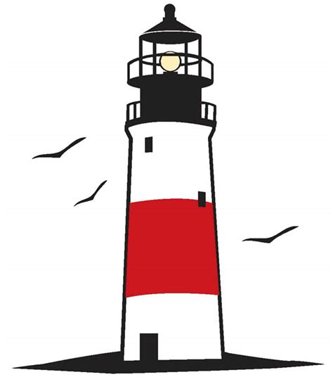 Lighthouse clipart striped. At getdrawings com free