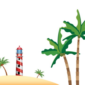 Vector nature natural scene. Lighthouse png images vectors