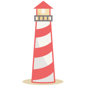 svg silhouette lighthouse