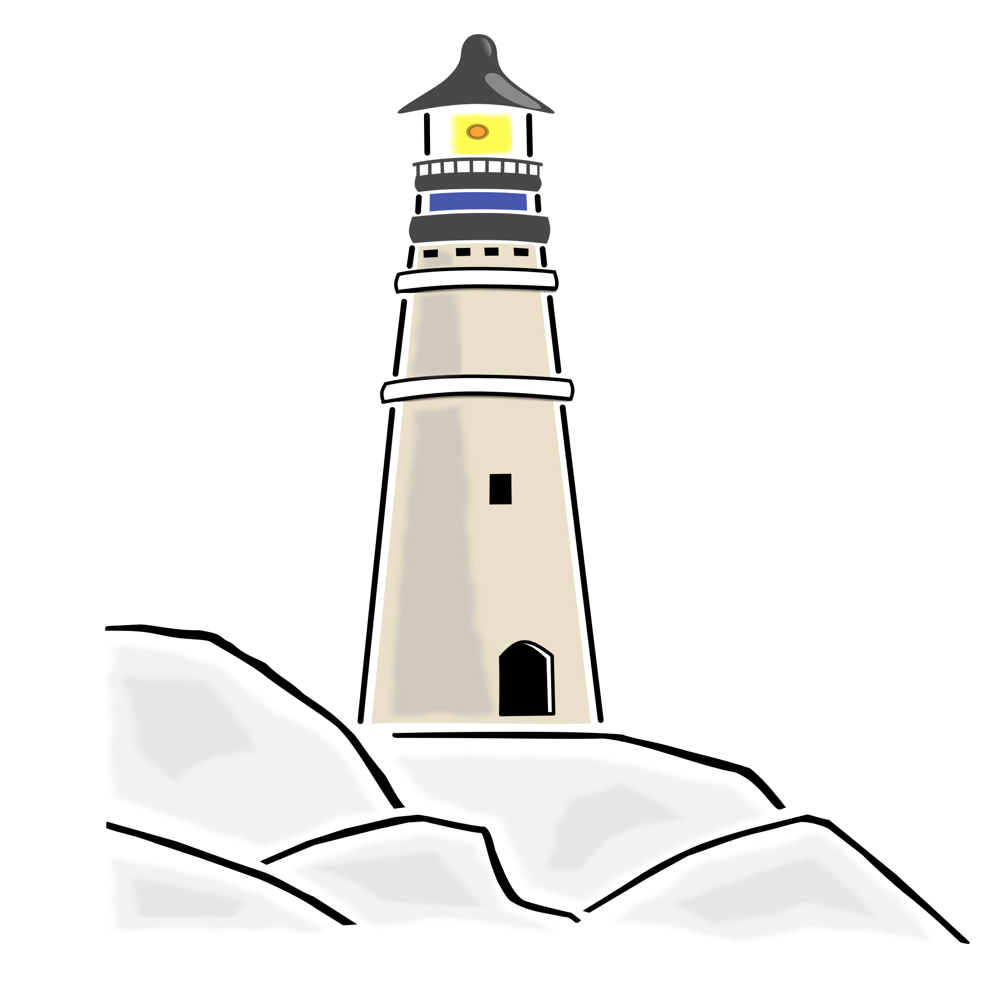 Lighthouse illustration png. File svg wikimedia commons