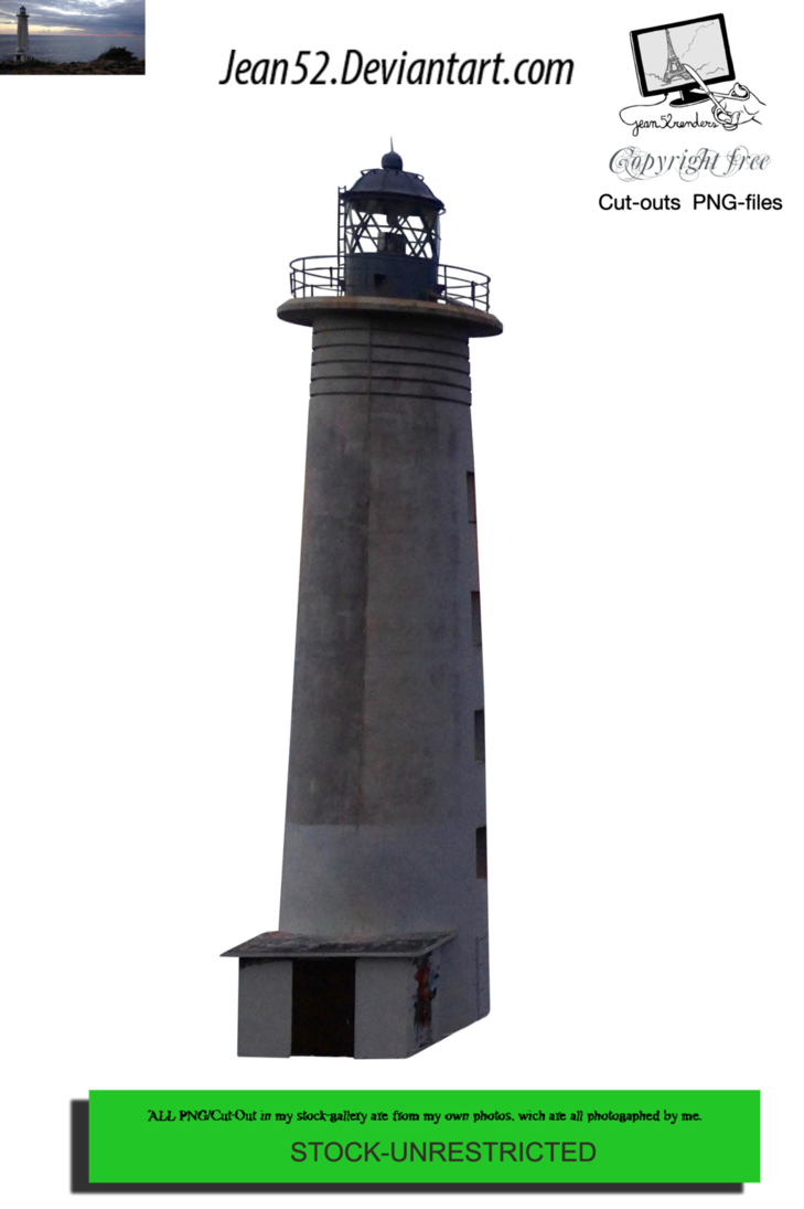 Lighthouse png. By jean on deviantart