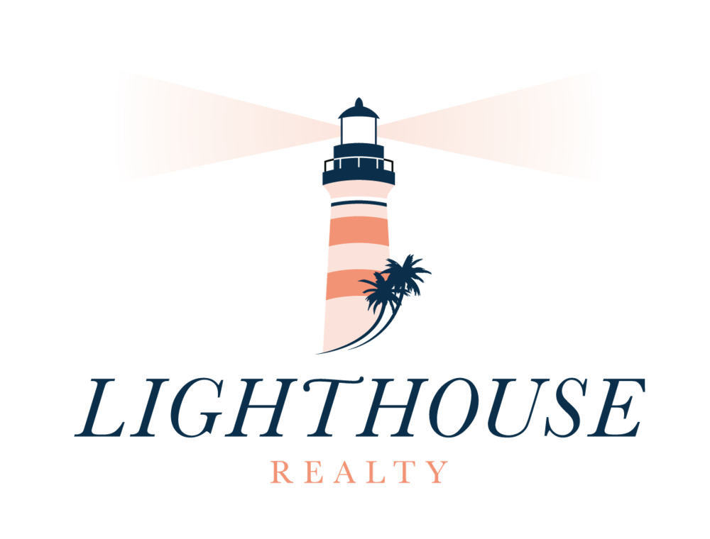 Lighthouse transparent gold. Realty about us