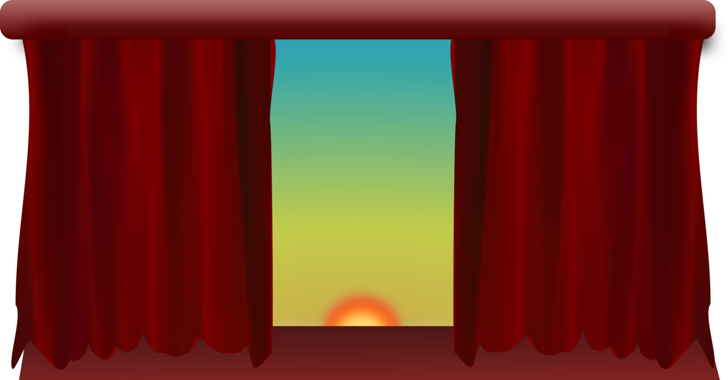 Drapery clip modern. Theater drapes and stage