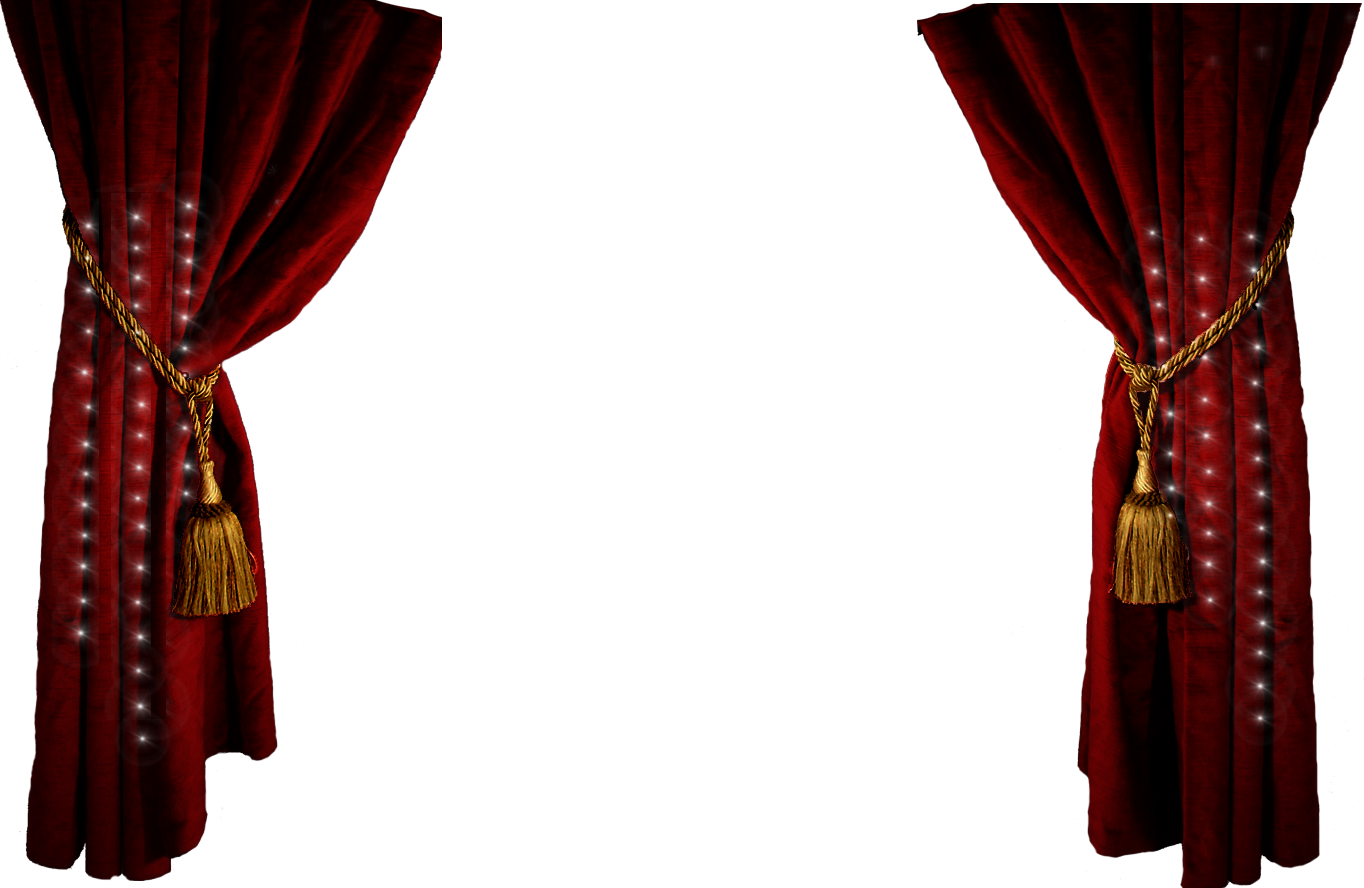 Stage curtains . Curtain clipart free library