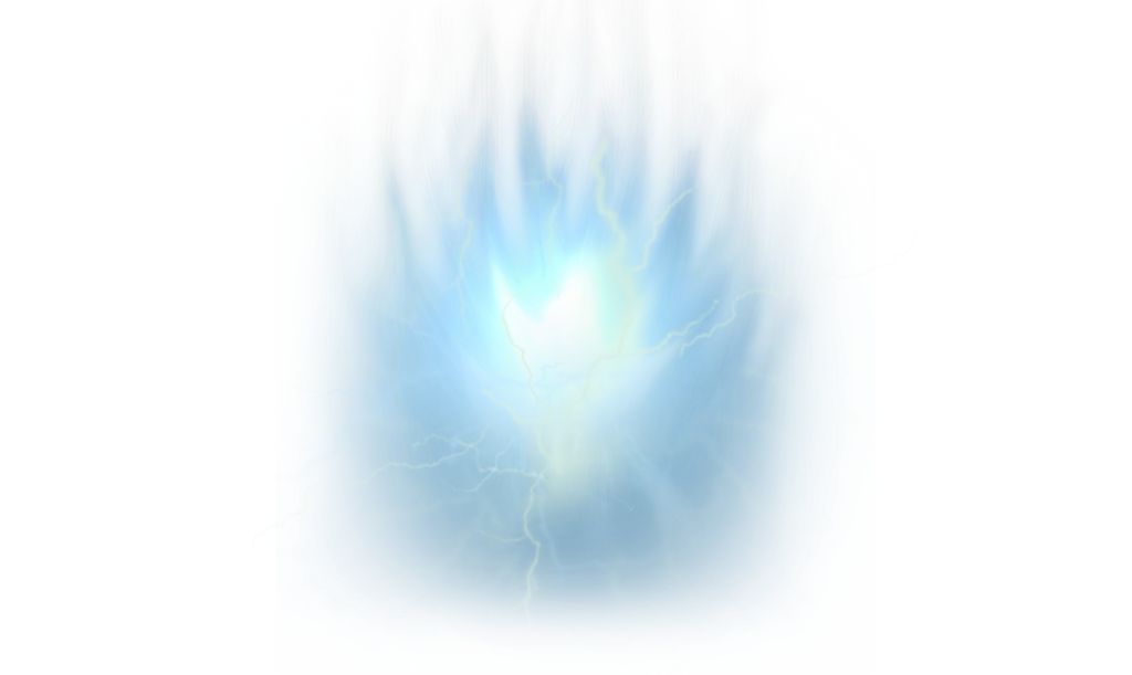 Blue lightning png. Ball effects energy magic