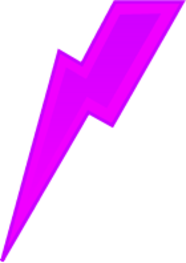 Lightning bolt clipart purple. Free download clip art