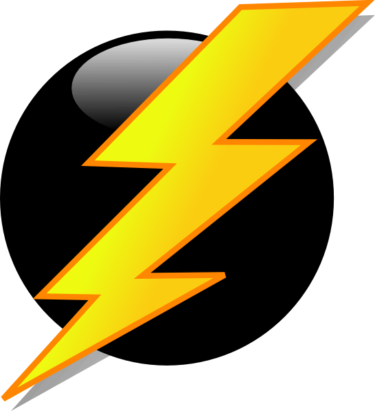 Lightning bolt clipart realistic. Drawings