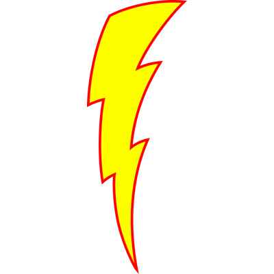 Lightning bolt png mcqueen. Animated lighting clipart free