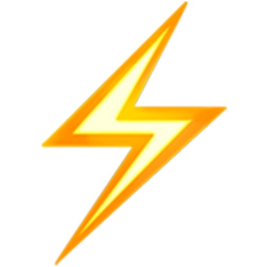 Lightning bolt png emoji. Posters by emojiqueen redbubble