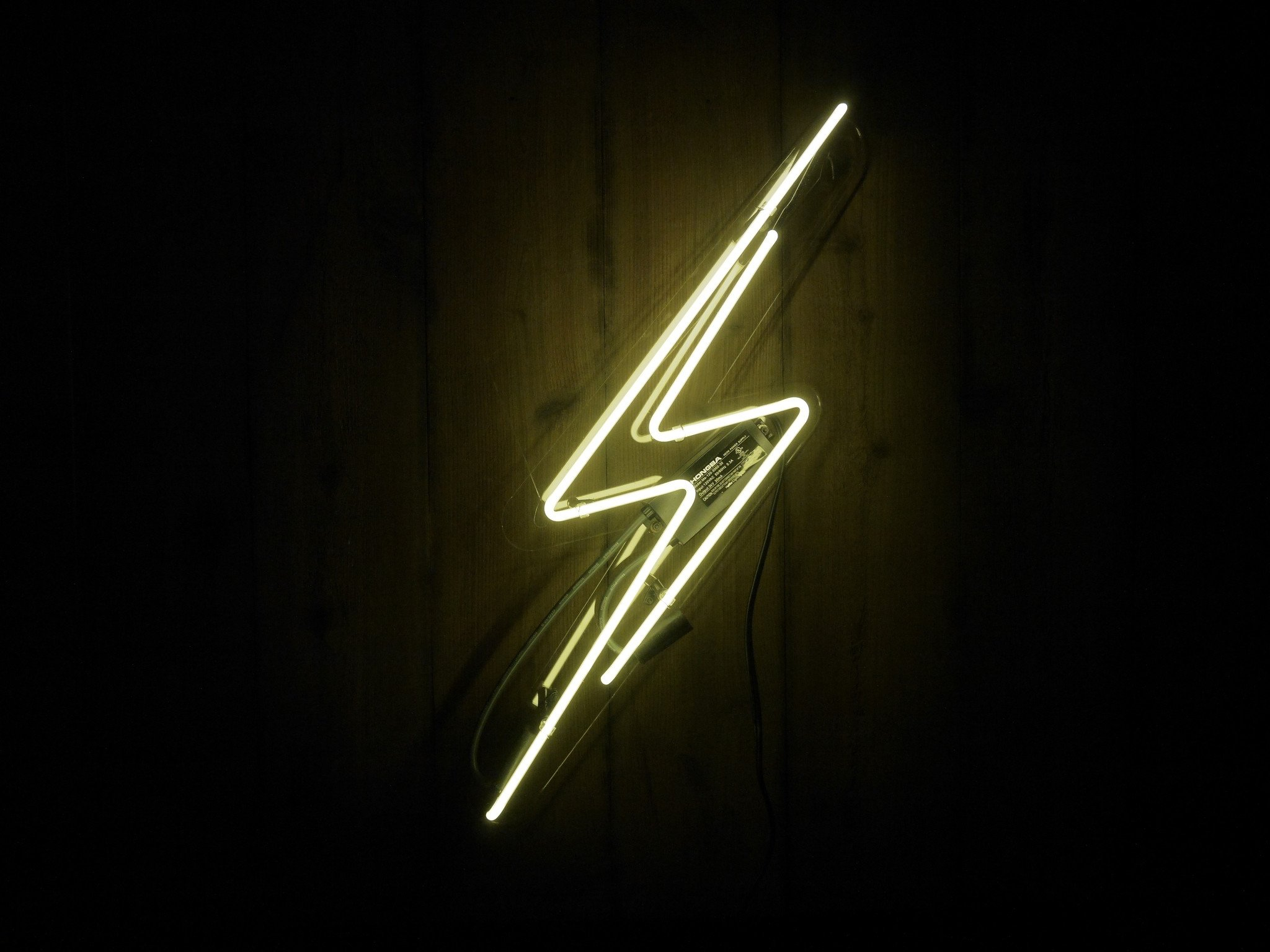 Lightning bolt png neon. Sign noble gas industries
