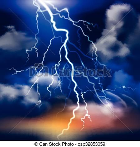 Lightning clipart. Background illustration and stormy clip royalty free download