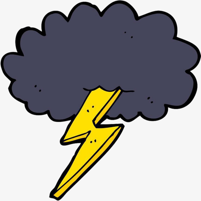 Thunderstorm clipart thunder lighting. And lightning at getdrawings
