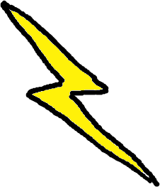 Free public domain clip. Lightning clipart jpg freeuse download