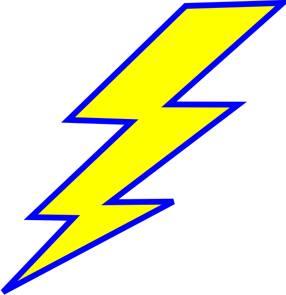 Lightning clipart bold. Valuable inspiration bolt clip graphic library download