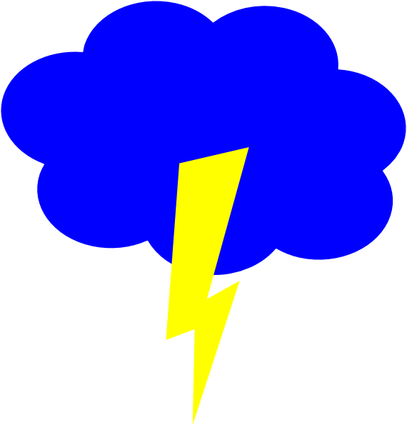 Lightning clipart electric sign. Cloud free on dumielauxepices