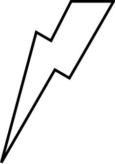 Thunderbolt clipart lightning strike. Free bolt stencil lightening