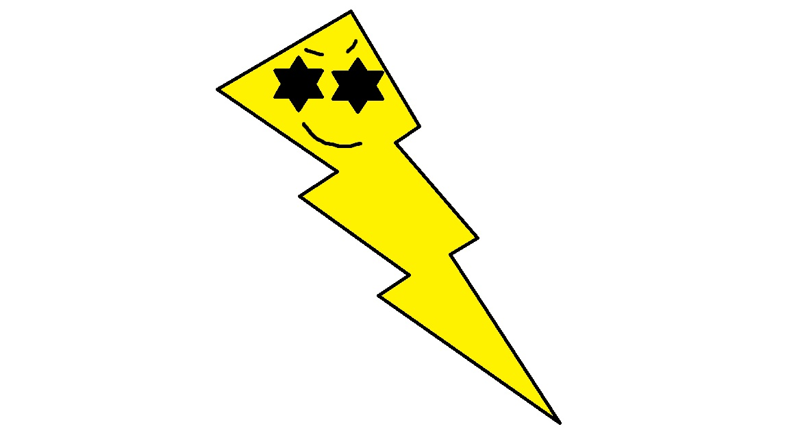 Lightning clipart lightning shock. Cartoon lighting bolt democraciaejustica
