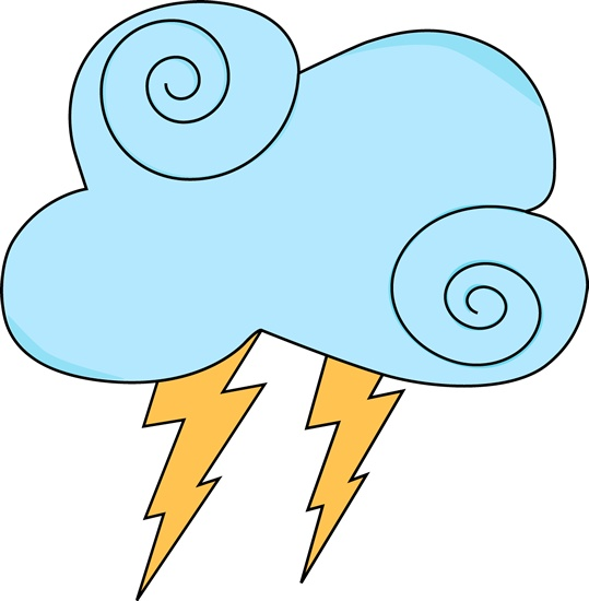 Weather clipart science. Storm clouds drawing at
