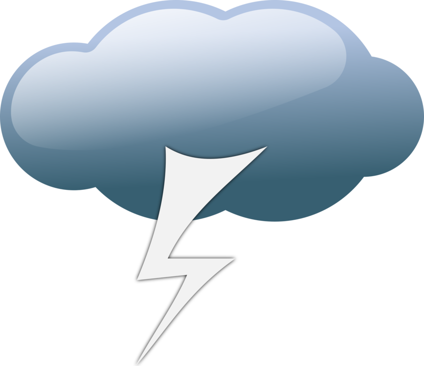 Lightning clipart stormy sky. Thunderstorm weather cloud free