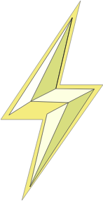 Lightning clipart stylized. Bolt small image png