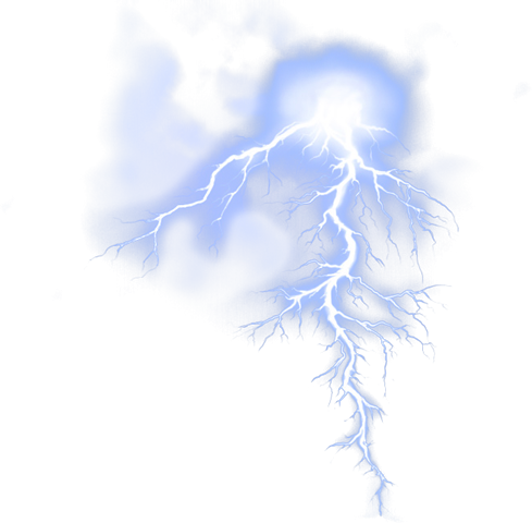 thunder effect png