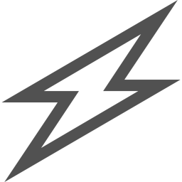 Lightning svg electricity. Free charge battery power