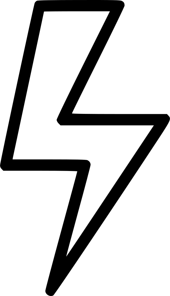 Lightning svg large. Storm energy png icon