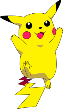 Lightning svg pikachu. Clipart file cute borders