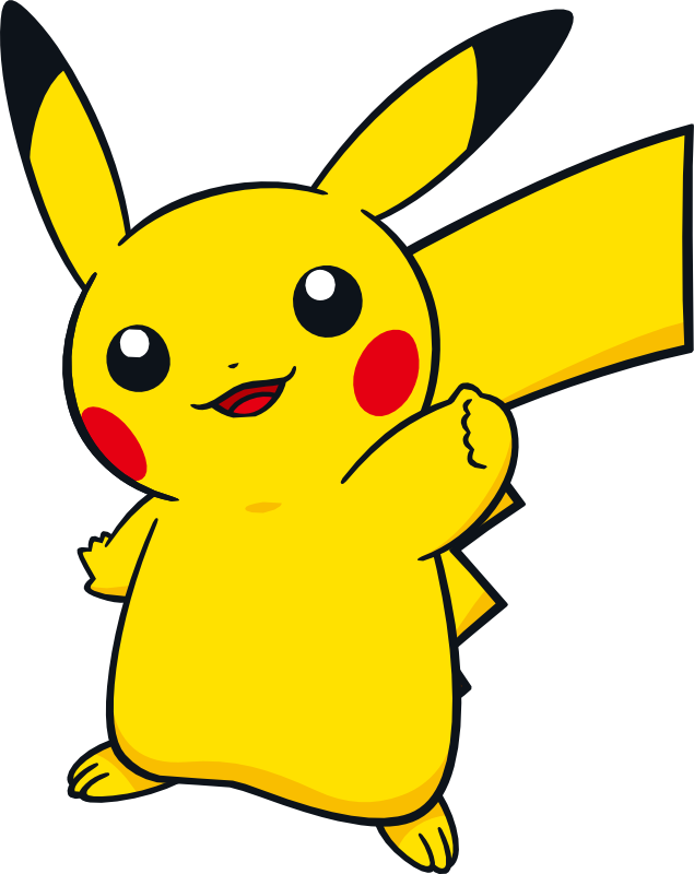 Lightning svg pikachu. Artwork dream world gotta