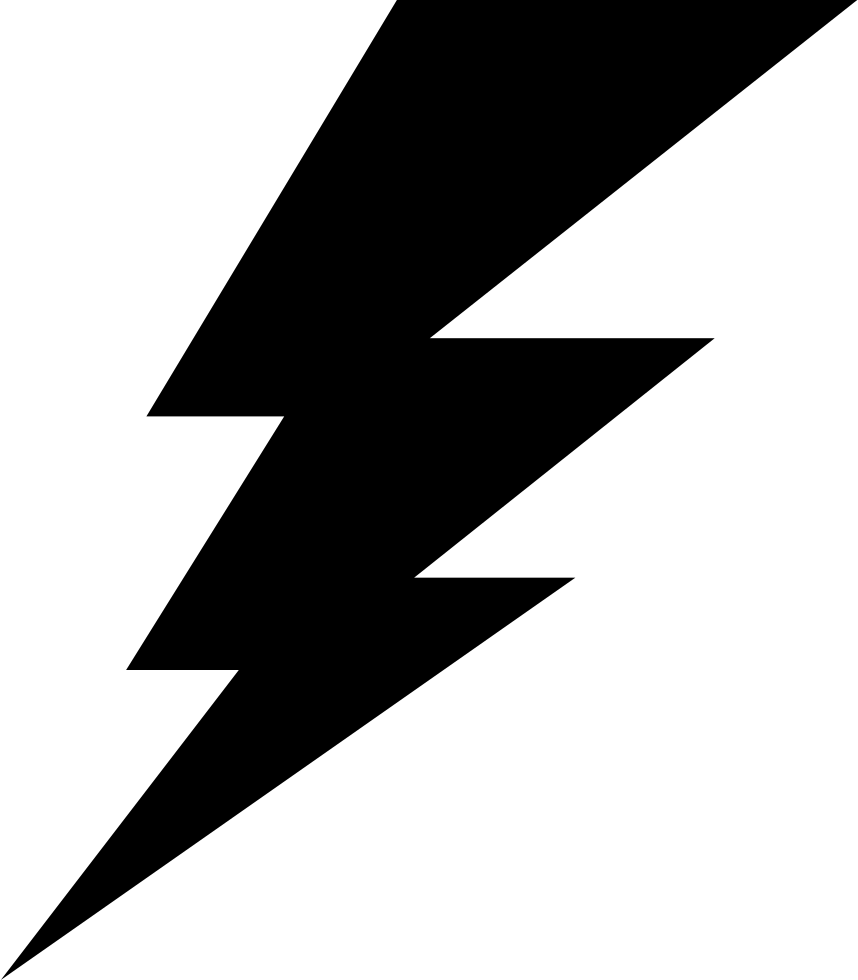 Lightning svg real. Png icon free download