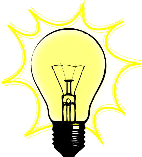 Bulb clipart pdf. Free light cliparts download