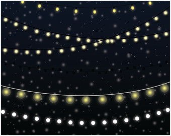 Lights clipart party light. Patio string charming of