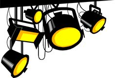 Lights clipart stage light. Cliparts pinterest lighting and