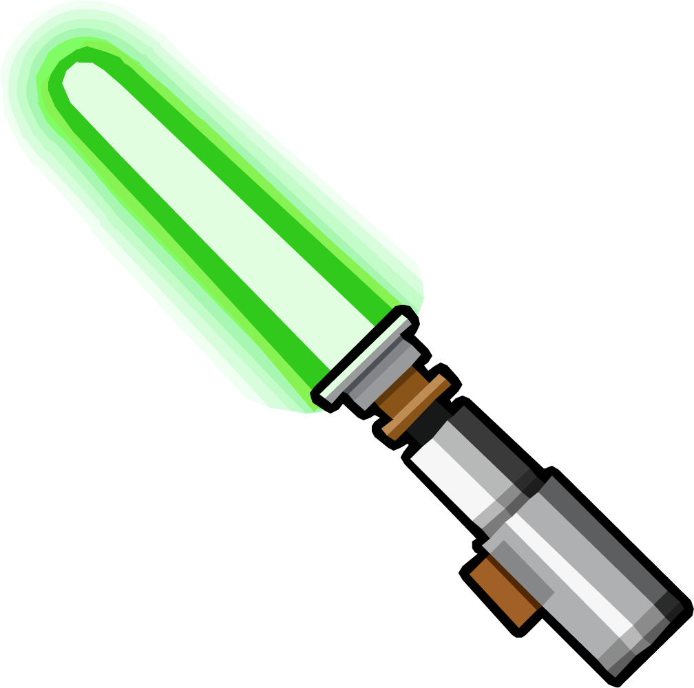 red light saber png