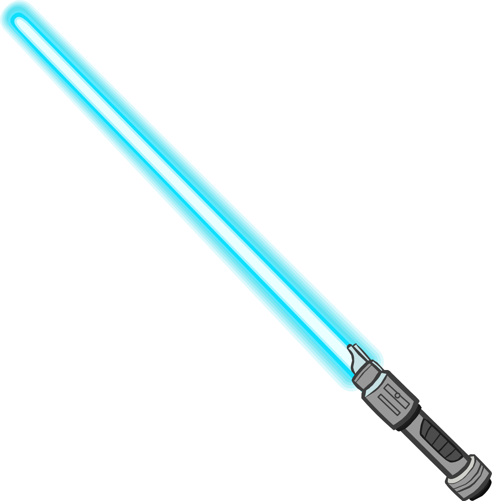 Lightsaber clipart blue. Star wars at getdrawings