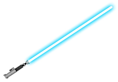 Lightsaber clipart high resolution. Blue transparent png