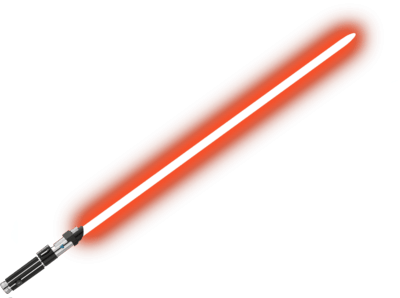Lightsaber clipart high resolution. Red starwars