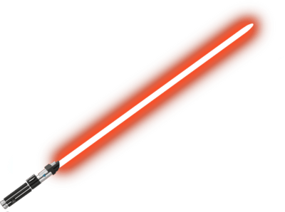 Lightsaber clipart movie. Red transparent png stickpng