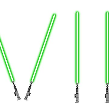 Lightsaber clipart proposed green. Star wars the force