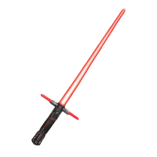 Lightsaber clipart high resolution. Kylo ren red transparent