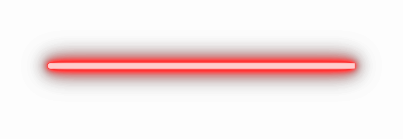 red lightsaber blade png