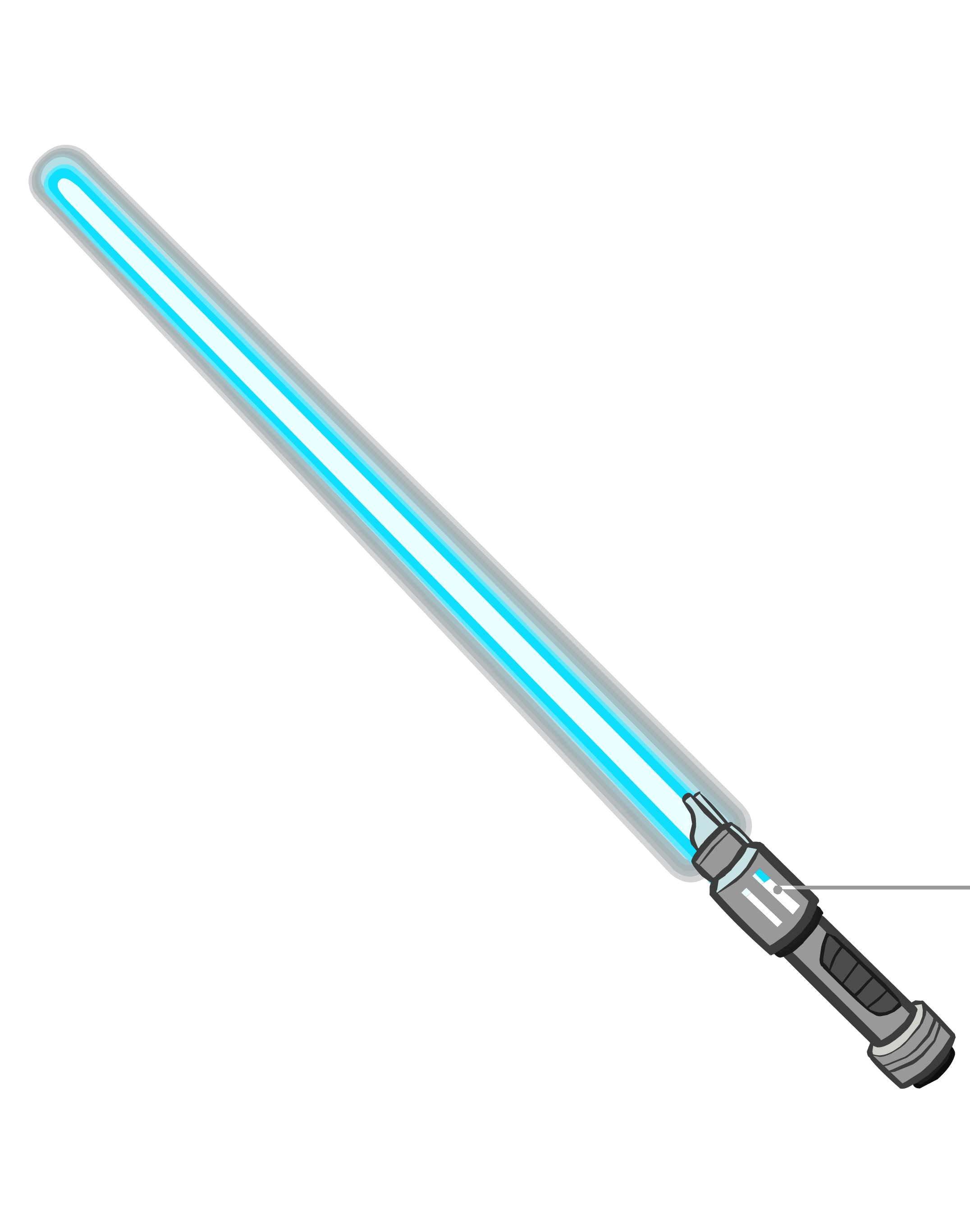Lightsaber transparent png. Image blue icon club