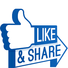 Like and share png. Image