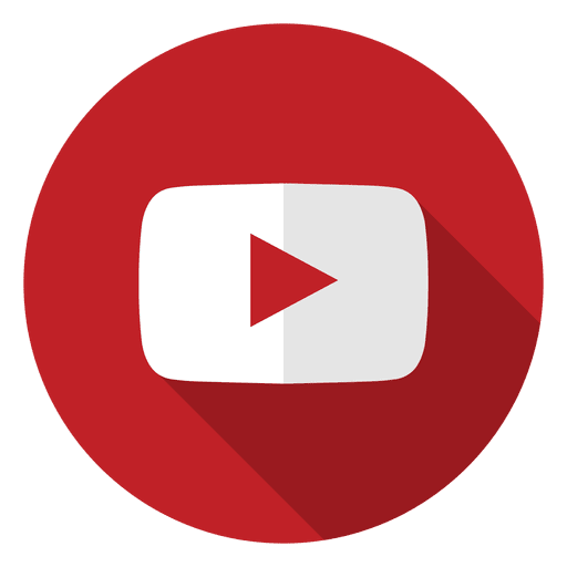 Logo youtube png. Icon transparent svg vector
