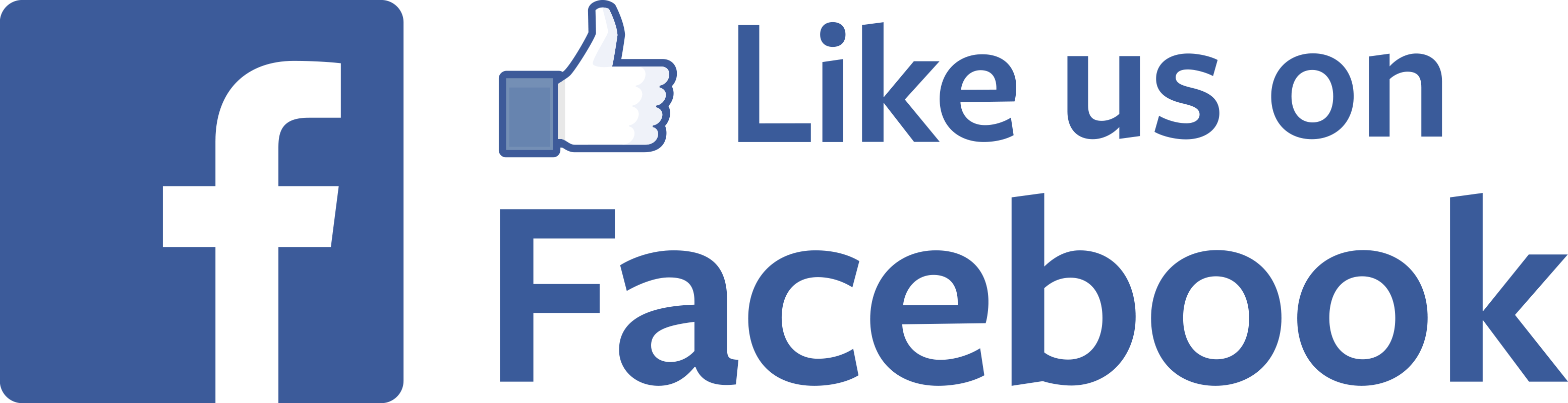 Like us on facebook png. With thumb up transparent