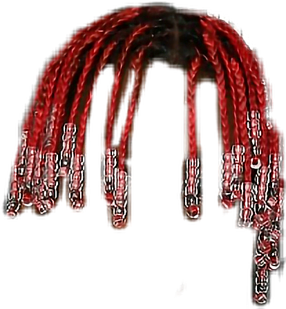 Red lilyachty lilboat redhair. Lil yachty hair png image royalty free download